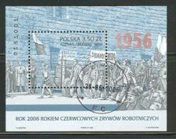 POLAND 2006 MICHEL NO BL.173 USED  /zx/ - 1944-.... Republik