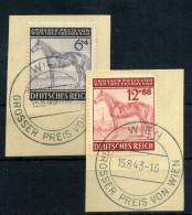 1943 TERZO REICH SERIE COMPLETA USATA - Allemagne