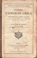 Premiers Exercices Grecs Par L'abbé E. Ragon - 1801-1900