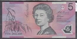 0222 BILLETE AUSTRALIA 5 DOLLARS CIRCULADO - Otros