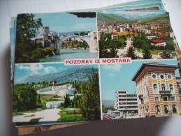 Bosnië Herzegovina Mostar Pozdrav Iz Mostara - Bosnië En Herzegovina
