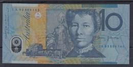 0222 BILLETE AUSTRALIA 10 DOLLARS CIRCULADO - Australia