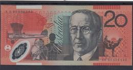 0222 BILLETE AUSTRALIA 20 DOLLARS CIRCULADO - Otros
