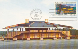 D26562 CARTE MAXIMUM CARD FD 1972 USA - NATIONAL PARK VIENNA CP ORIGINAL - Architecture