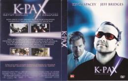 Dvd Zone 2 K-Pax L'Homme Qui Vient De Loin Édition Prestige 2 Disques Belga Home Video Dts - Sciences-Fictions Et Fantaisie