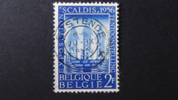 Belgium - 1956 - Mi:1039 - Yt:990 O - Look Scan - Usati