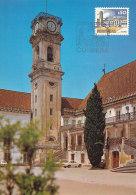 D26577 CARTE MAXIMUM CARD 1980 PORTUGAL - COIMBRA UNIVERSITY CP ORIGINAL - Architecture