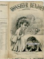 PARTITION XIX CAF CONC HUMOUR MONSIEUR BENJOIN ISCH WALL VILLEBICHOT 1872 ILL MEYER  CUISINE FESTIN NOCE BAUDIN THÉO - Autres