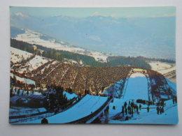 CP 38 ST SAINT NIZIER DU MOUCHEROTTE -  Tremplin Olympique  De 90 M. Au Fond Grenoble - Grenoble