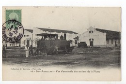 TUNISIE - SIDI ABDALLAH - Ateliers De La Flotte - Train - Tunisie