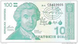 Croatia - Pick 20 - 100 Dinara 1991 - Unc - Croazia