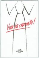 Rare Catalogue Hermes. Illustrateur & Photos. Vive La Cravate. Mode. 1990. - Mode