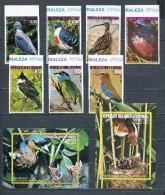 EQUATORIAL GUINEA 1976 Mi # 947 - 953 + Block 240 - 241 BIRDS ASIA  MNH - Equatorial Guinea