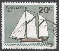 Singapore. 1980 Ships. 20c Used. SG 368 - Singapore (1959-...)