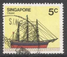 Singapore. 1980 Ships. 5c Used. SG 365 - Singapore (1959-...)