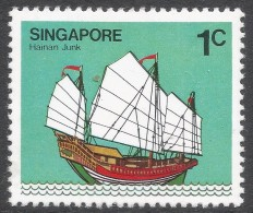 Singapore. 1980 Ships. 1c MH. SG 364 - Singapore (1959-...)