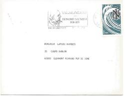 FLAMME DE VALMONDOIS VAL D'OISE 1979 HONORE DAUMIER - Marcophilie (Lettres)