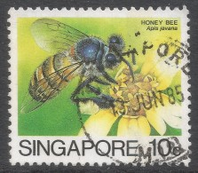 Singapore. 1985 Insects. 10c Used. SG 492 - Singapore (1959-...)