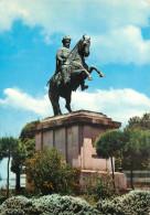 Emperor Menelik II Statue, Addis Ababa, Ethiopia Postcard Unposted - Äthiopien