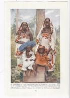 Swahili Women & Childs  Of ZANZIBAR  --  1927 Color Photographic Book-Plate - Fotografia