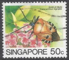 Singapore. 1985 Insects. 50c Used. SG 497 - Singapore (1959-...)