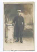 MILITARIA... WW1..Carte Postale Photo MILITAIRE Porte Le Numéro 25 Au Col Et Képi - Guerre 1914-18