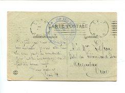 Cachet De Franchise Militaire - LYON - 158e Regt D'Infanterie - 1er B.on De Garde - Marcophilie (Lettres)