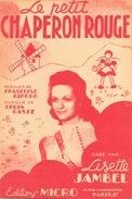 Partition Le Petit Chaperon Rouge - Spartiti