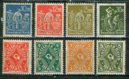 Cor Postal - ALLEMAGNE - REPUBLIQUE DE WEIMAR - Mineurs, Agriculteurs - 1921 - 1923 - Neufs