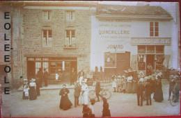 42 - Carte Photo - SAINT JUST EN CHEVALET - Quincaillerie JONARD - DOCKS FOREZIENS - Hotel - Devanture - Lire Descriptif - France