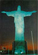Cristo Redentor, Rio De Janeiro, Brazil Postcard Unposted - Rio De Janeiro