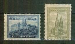 Chateau De Wartburg - ALLEMAGNE - REPUBLIQUE DE WEIMAR - Cathédrale De Cologne - 1923 - Neufs