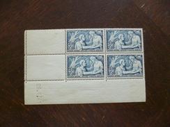 TP France Coin Daté Sans Charnière Mais Gomme Imparfaite 29/01/41 N°498 Valeur 60€ - 1940-1949