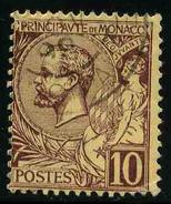 MONACO - Prince Albert 1er - YT 14 - TIMBRE OBLITERE - Monaco