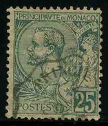 MONACO - Prince Albert 1er - YT 16 - TIMBRE OBLITERE - Monaco