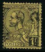 MONACO - Prince Albert 1er - YT 20 - TIMBRE OBLITERE - Monaco