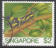 Singapore. 1985 Insects. $2 Used. SG 500 - Singapore (1959-...)
