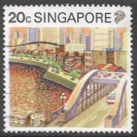 Singapore. 1990 Tourism. 20c Used. SG 626 - Singapore (1959-...)