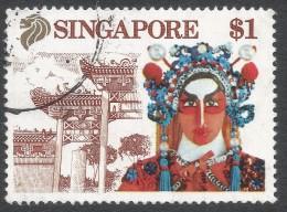 Singapore. 1990 Tourism. $1 Used. SG 633 - Singapore (1959-...)