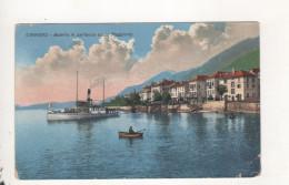 Cannero Batello In Partenza Lago Maggiore - Unclassified