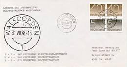 Laatste Dag Envelop Walsoorden - 31-07-1978 - Period 1949-1980 (Juliana)
