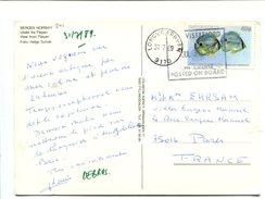 BAHAMAS 40c. Sur Carte Postée à Bord D'un Paquebot En Norvège - Bahamas (1973-...)