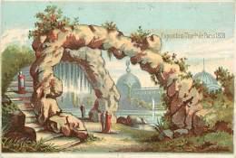PIE-16-P - 2186 :    EXPOSITION UNIVERSELLE DE PARIS 1878. - Chromos