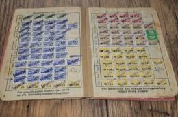32- FDGB Mitgliedsbuch - Gebührenstempel, Impoststempel