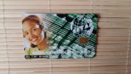 Aruba Phonecard Only 80.000 Made   Used Rare - Aruba