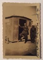 UFFICIALE ITALIANO PERIODO COLONIALISMO -- CM. 9,5X6,5 - Guerra, Militari