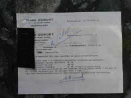 Montivilliers Seine Inferieure Mr Andre Dumort 1953 - Kleding & Textiel