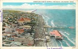 GALVESTON      AEROPLANE VIEW - Galveston