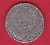 Hongrie - 10 Filler 1895 - TB - Hongrie