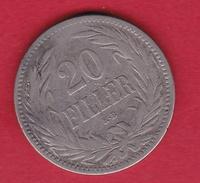 Hongrie - 20 Filler 1893 - TB - Hungary